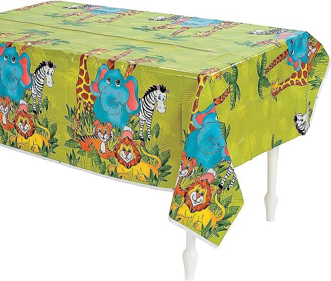 ghdonat.com Zebra Cieovo 4 Pack Zoo Print Table Cover Deer Palm ...
