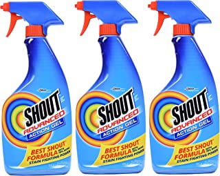 Shout Advanced Stain Remover Gel, 22 Ounce, Pack of 3