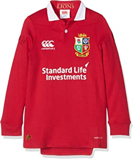 Canterbury British And Irish Lions Kids VapoDri Matchday Classic Long Sleeve Jersey
