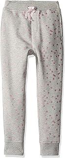 Danna Belle Girls Elastic Waist Long Pencil Pants with Pockets Belt Decorated
