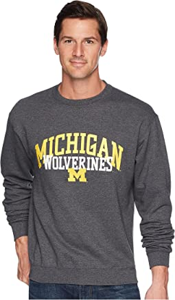 Michigan Wolverines Eco Powerblend Crew