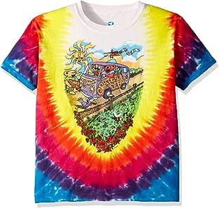 Kids' Little Grateful Dead Summer Tour Bus Short Sleeve T-Shirt, Tie-Dye, Small