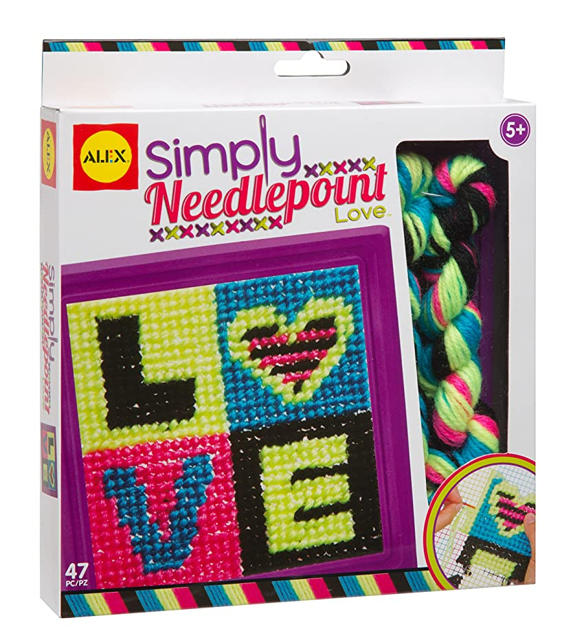 ALEX Toys Craft Simply Needlepoint Love