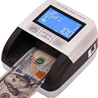 """Professional Counterfeit Bill Detector""""4 Way Insertion"""" USD EUR CAD MXN Portable Multi Currency Detector. 100% Counterfeit..."""