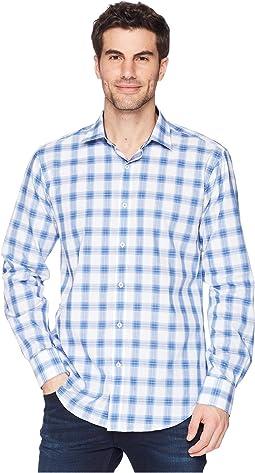 BUGATCHI - Shaped Fit Woven Shirt