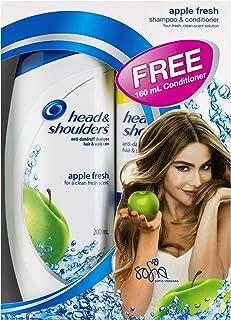 Head & Shoulders Apple Fresh Shampoo + Conditioner Bundle Pack, 360 ml