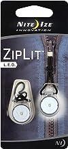 سحب سحاب بإضاءة LED من نايت ايزي زيبلت، ضوء LED مع سلك سحب لسهولة التركيب بالسحابات، LED بيضاء