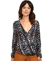 The Jetset Diaries - Viper Wrap Top