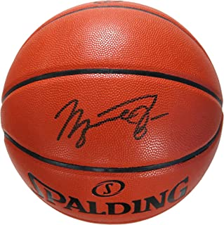 Michael Jordan Chicago Bulls Signed Autographed Spalding NBA Game Ball Series Basketball
