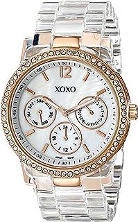 XOXO Womens Quartz Watch, Analog Display and Plastic Strap XO5528