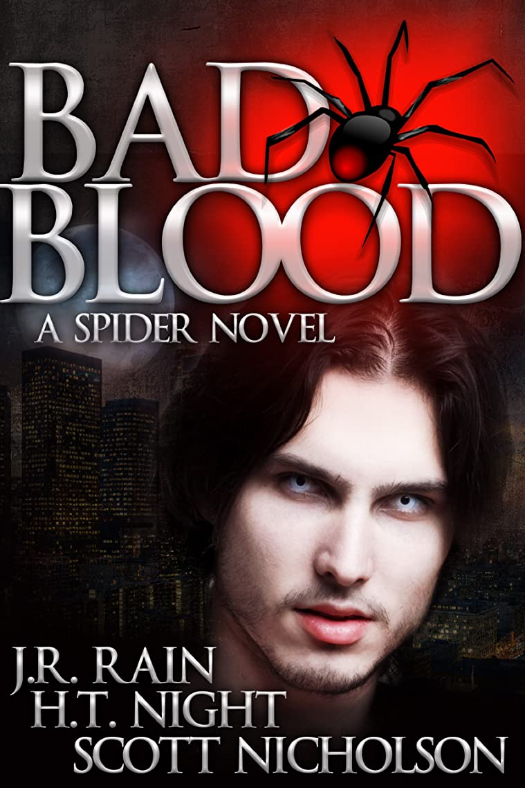 Bad Blood: A Vampire Thriller (The Spider Trilogy Book 1) yibuwvnn51095284