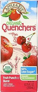 Apple & Eve Organic Quenchers, Fruit Punch Burst, 6.75 Fluid-oz., 40 Count
