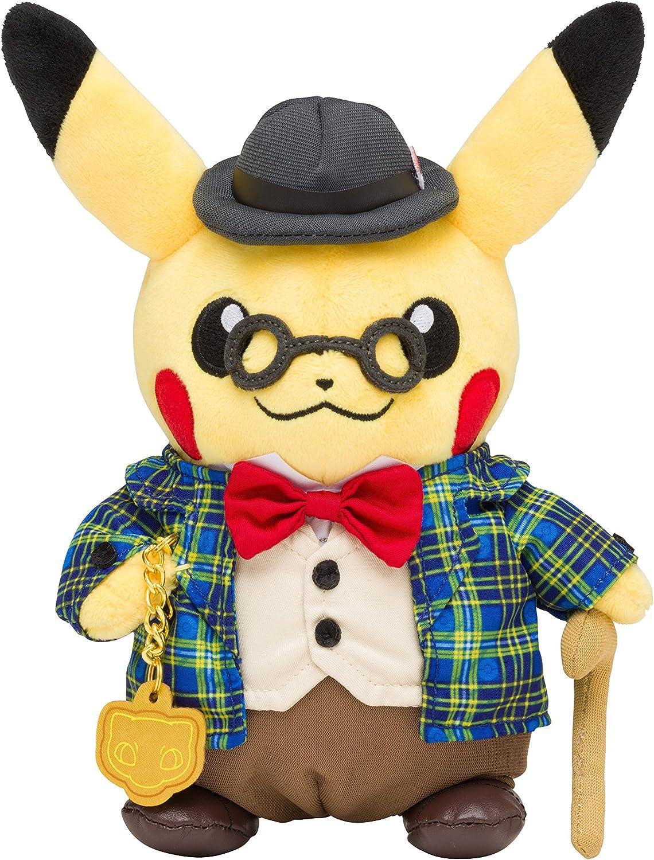 Pokemon Center Original Plush Toy Gentleman Pikachu 21cm Peluche 8.3