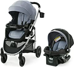 Best Graco Modes Pramette Travel System | Includes Baby Stroller with True Bassinet Mode, Reversible Seat, One Hand Fold, Extra Storage, Child Tray and SnugRide 35 Infant Car Seat, Ontario Review