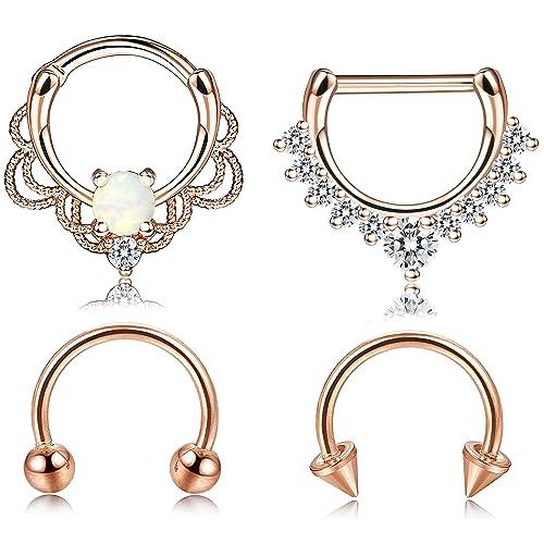 Cute Septum Ring Amazon Com
