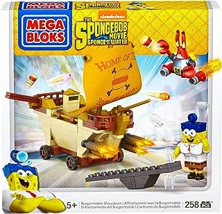 Mega Bloks SpongeBob Burgermobile Showdown Building Set