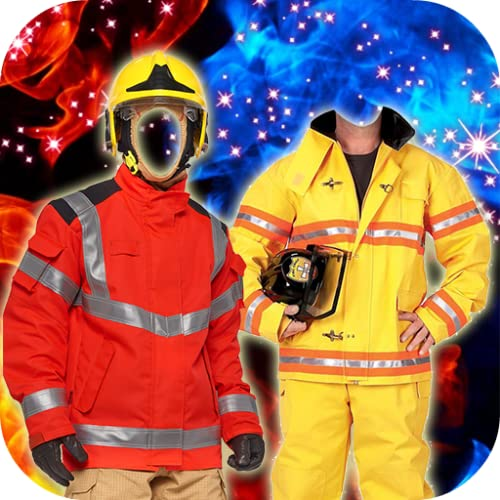 Firefighter Suit Montage