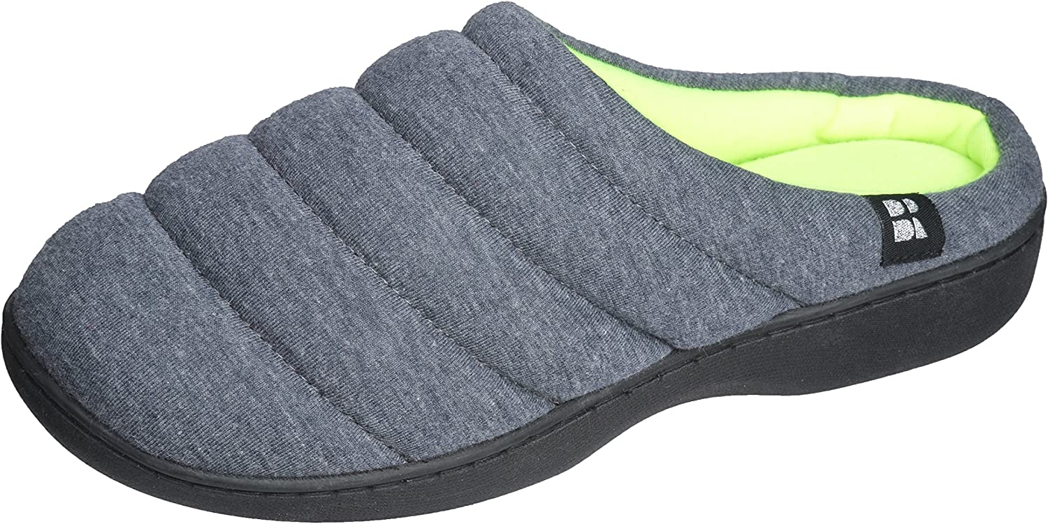 Joan Vass Quilted House Slippers for Women;A Soft Plush Feeling Indoor Outdoor House shoes