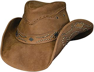 Bullhide Women's Hidden Pleasure Leather Hat - 4023