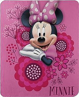 "Disney's Minnie's Bowtique, ""So Many Bows"" Fleece Throw Blanket, 45"" x 60"", Multi Color"