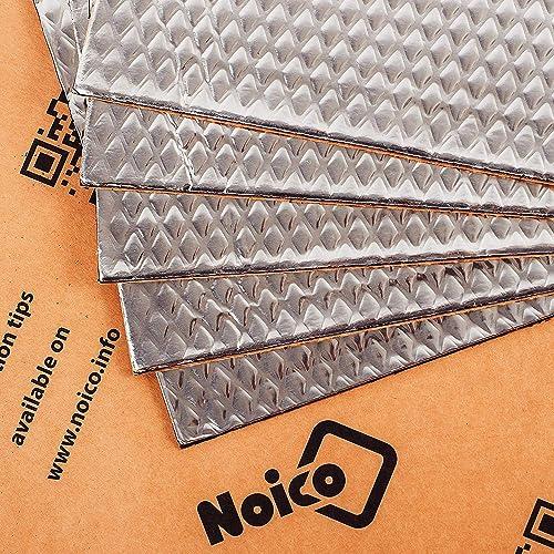 2021 Noico 80 mil 5 sqft Car Sound Deadening wholesale Mat, Butyl Automotive Sound Deadener, Audio Noise outlet sale Insulation and Dampening online sale