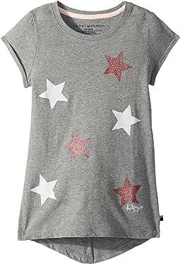 Tommy Hilfiger Kids - Sparkling Star Tee (Big Kids)
