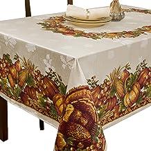 مفرش طاولة من القماش مطبوع عليه صورة حصاد السبلندر من بينسون مينز، مقاس 152.4 سم × 254.4 سم