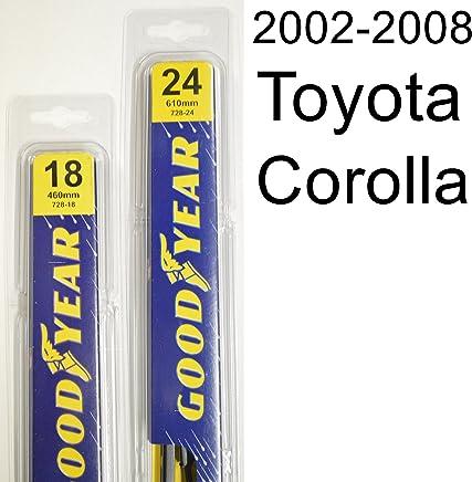 Toyota Corolla (2002-2008) Wiper Blade Kit - Set Includes 24