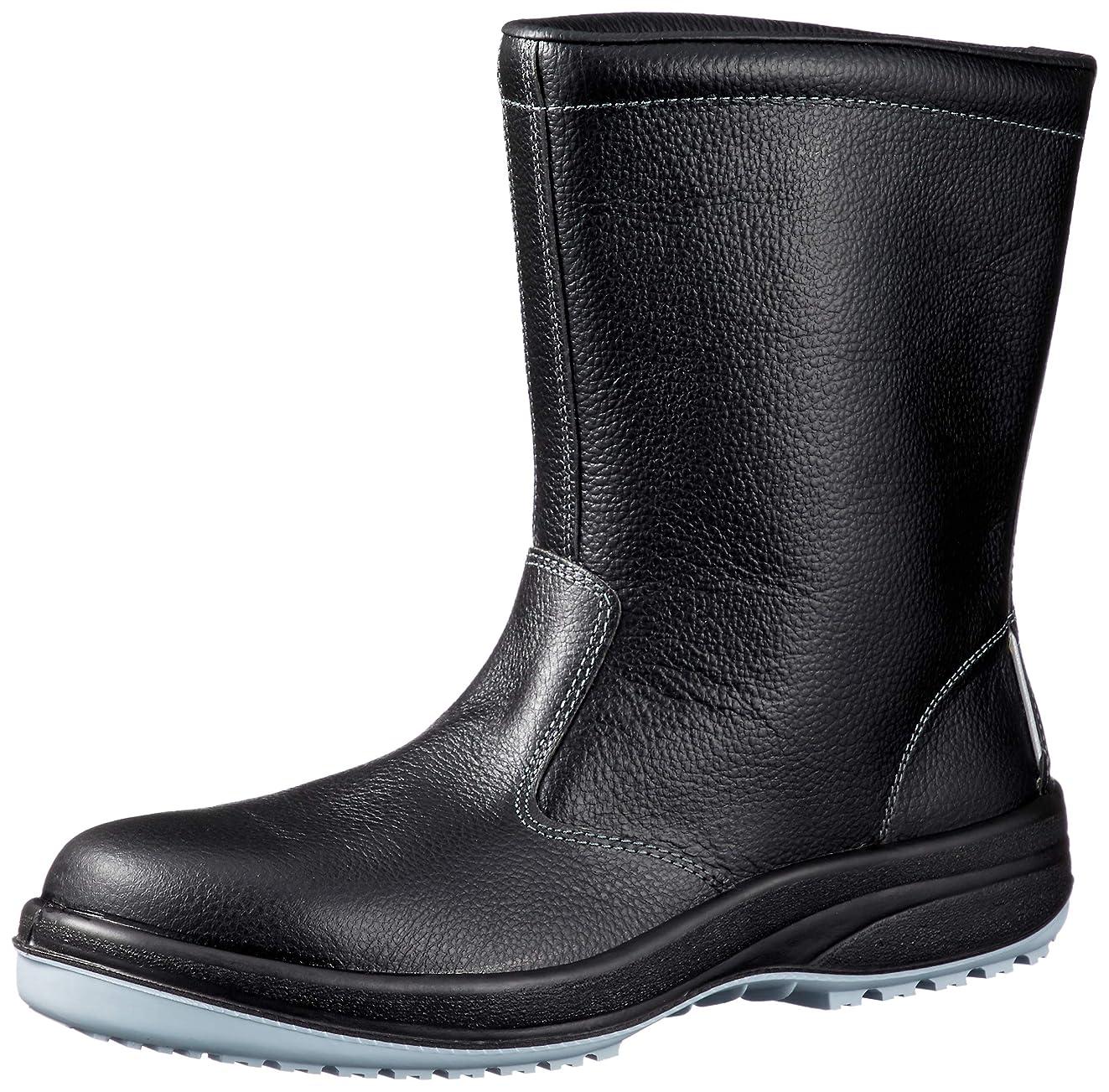 コンパス特性意図する静電安全靴 JIS規格 耐滑 半長靴 ハイグリップセフティ HGS340N 静電