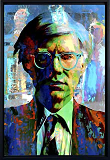 Mark Lewis Art Andy Warhol Art Prints Wall Decor - Framed Canvas Art fwm - Living Ancestor of Cy Young The Baseball Legend