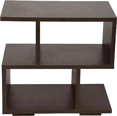 Luxus Nova Side Table (Brown, Wenge)