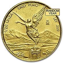 1981 MX - Present Mexico 1/20 oz Gold Onza &/or Libertad BU (Random Year) Gold Brilliant Uncirculated