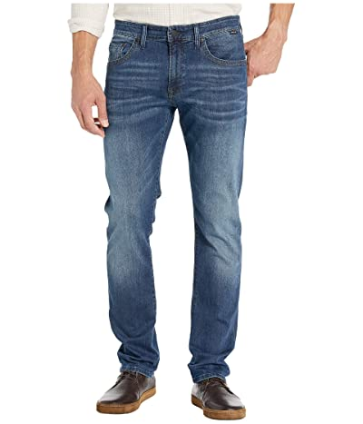Mavi Jeans Marcus Regular Rise Slim Straight Leg in Dark Foggy Authentic Vintage (Dark Foggy Authentic Vintage) Men