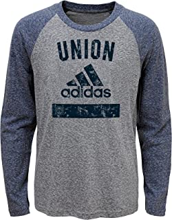 MLS Boys Outerstuff Triblend Equiptment Long Sleeve Tee, Team Color ,
