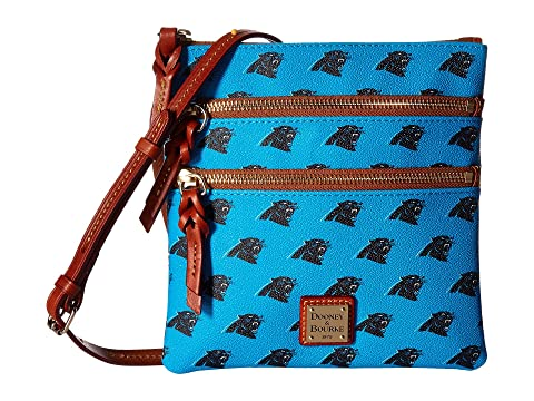 Dooney & Bourke NFL North/South Triple Zip Carolina Amazing Price Cheap Online Free Shipping Recommend Discount Latest Collections iid0y