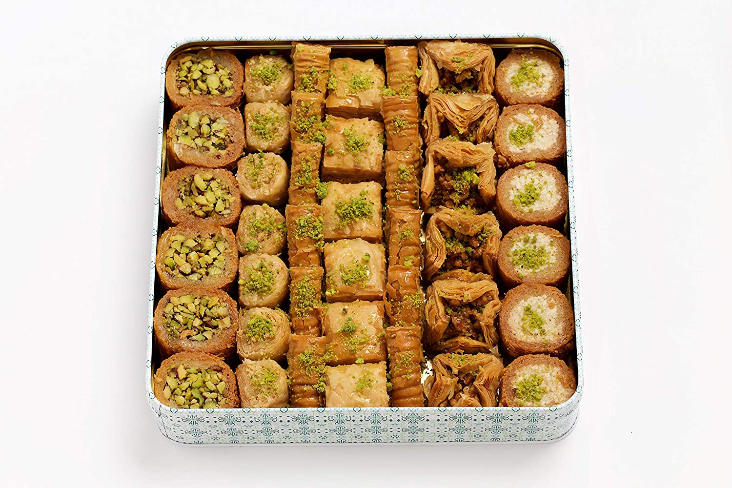 Al Bohsali 1870- Premium Popular brand in the world Mix Pieces A surprise price is realized Baklava 41