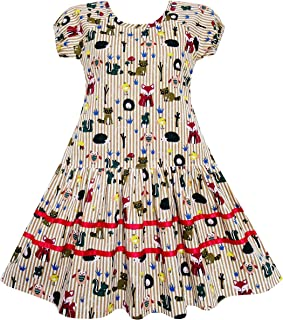sunny girl bird dress