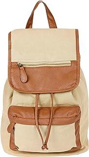 Bolso mochila para mujer Beige beige
