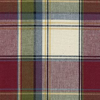 Longaberger Kiddie Purse Paprika Plaid Fabric Over Edge Basket Liner