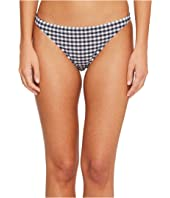 Tory Burch Swimwear - Gingham Hipster Bottom