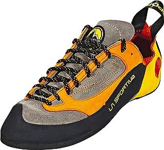 La Sportiva Unisex Kid's Finale Brown/Orange Climbing Shoes