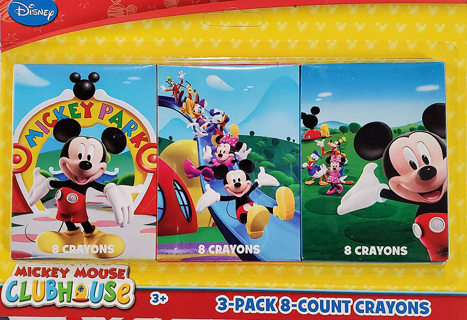 Crayons Max 86% OFF - 3 Packs Mickey of Now on sale Mouse 8