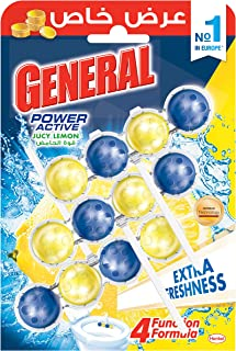 General Toilet Cleaner Tablets with Jucy Lemon Power - 150 gm
