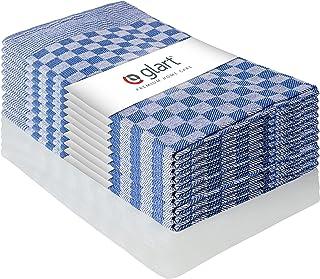 Glart 48SB 10'lu Set Bulaşık Bezi Mutfak Havlusu Bulaşık Havlusu Mutfak Havlusu Tam Örgü, 50 x 70 cm,%100 Pamuk OEKO-TEX, ...
