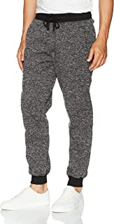 Men's Basic Fleece Marled Jogger Pant-Reg and Big & Tall Sizes