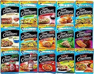 Starkist Tuna Creations/Salmon Creations - Variety Pack of 15 Flavors Bundle
