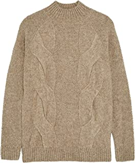 Zara Men Textured Cable-Knit Sweater 0458/303