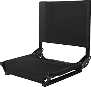 Cascade Mountain Tech Portable Folding Steel Stadium Seats for Bleachers or Benches