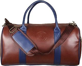 MOUNTHOOD Duffel / Duffle Tote Bag- Premium Quality Long Lasting PU Leather. Travel Weekender/Overnight Duffel luggage Ba...