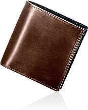 Eredità(エレディータ) ミニ財布 ブライドルレザー 小さい財布 二つ折り 1840年創業の英国トーマス社 財布 メンズ 日本製 WL15
